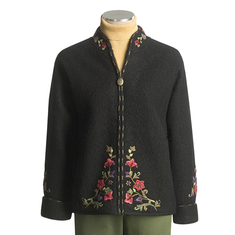 icelandic designs mont blanc sweater jacket for women. Black Bedroom Furniture Sets. Home Design Ideas