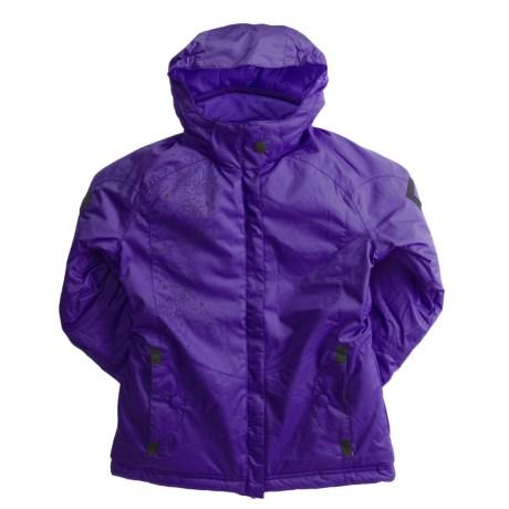 Boulder Gear Crystal Jacket - Insulated (For Girls)