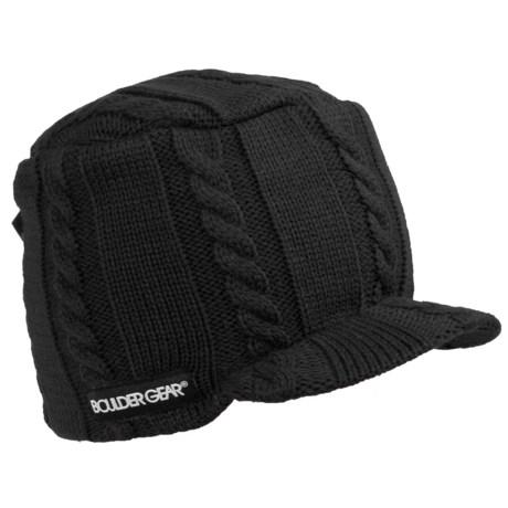 Boulder Gear Gem Beanie Hat - Billed (For Girls)