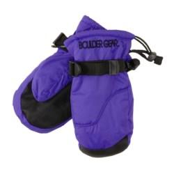Boulder Gear Mogul II Mittens - Fleece Lined (For Little and Big Kids)