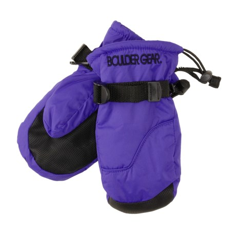 Boulder Gear Mogul II Mittens - Fleece Lined (For Little and Big Kids)