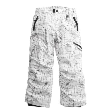 Boulder Gear Bolt Cargo Ski Pants - Insulated (For Boys)