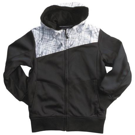 Boulder Gear Boiler Hooded Jacket - Fleece Backing (For Boys)