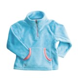 Snow Dragons Dragonflies Maddie Cozy Fleece Jacket -Zip Neck (For Little Girls)