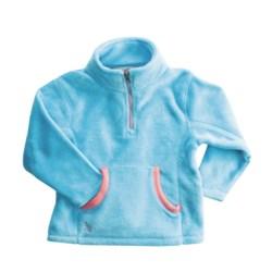 Dragonflies Maddie Cozy Fleece Jacket -Zip Neck (For Little Girls)