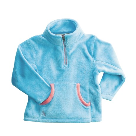 Dragonflies Maddie Cozy Fleece Jacket -Zip Neck (For Little Girls)