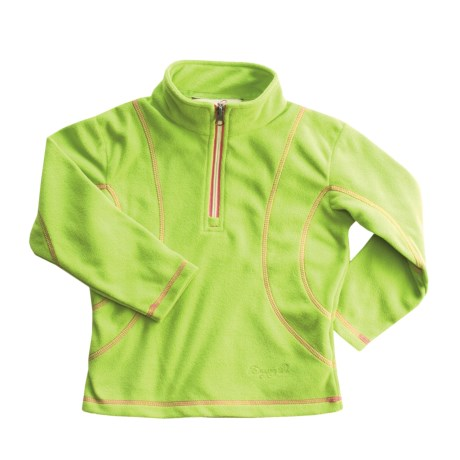 Dragonflies by Snow Dragons Chloe Jacket - Zip Neck, Microfleece (For Little Girls)