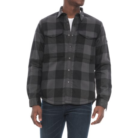 The North Face Hike-In Sherpa Shirt Jacket - Fleece Lined (For Men)