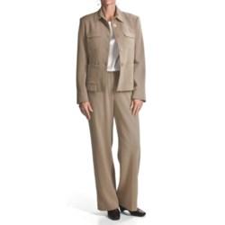Amelia Austin Crepe Pant Suit (For Women)