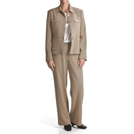 Amelia Austin Crepe Pant Suit (For Women)