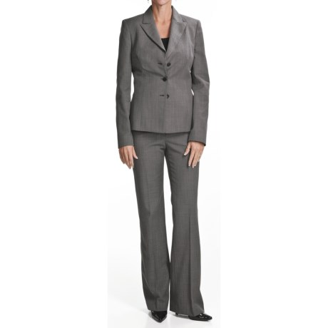 Amelia Austin Pant Suit - Wool (For Women)