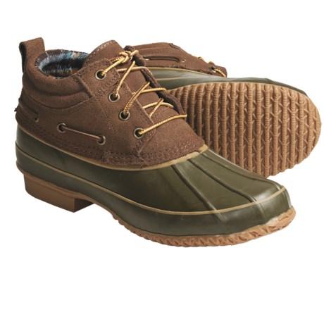 Khombu Classic 4-Eye Winter Boots - Suede (For Men)