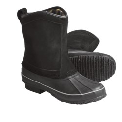 Khombu Duck Suede Winter Boots - Pull-On (For Men)