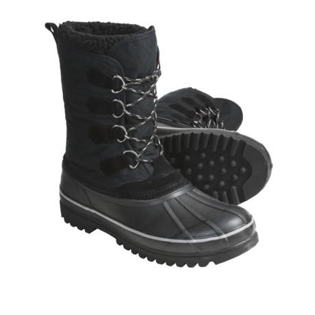 Khombu Packer Winter Boots - Waterproof, Faux-Fur Lining (For Men)