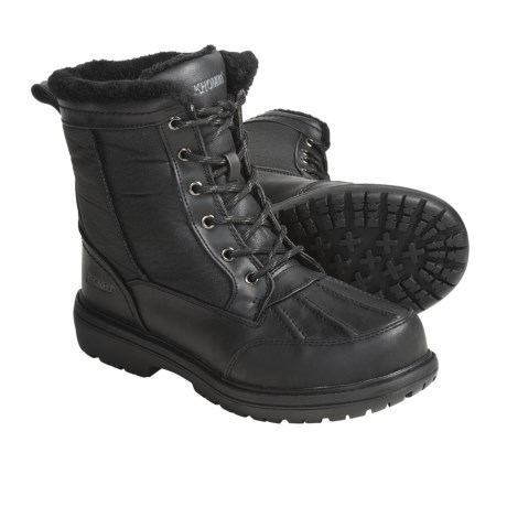Khombu Bell Tower Winter Boots - Insulated (For Men)