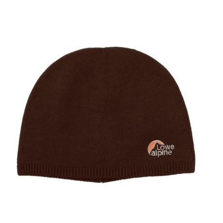 Lowe Alpine Fits All Beanie Hat - Merino Wool (For Men and Women)