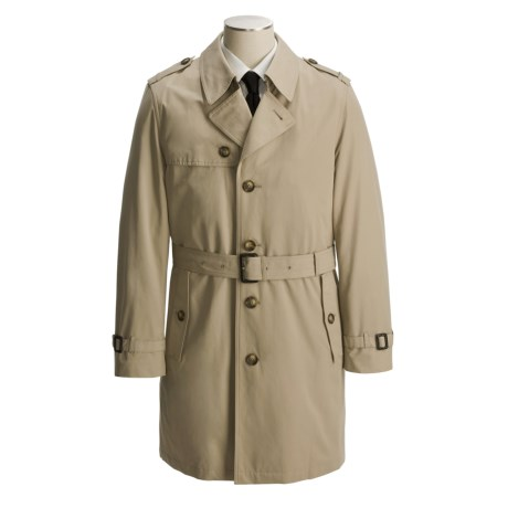 Lauren by Ralph Lauren Maxwell Belted Raincoat - Removable Liner (For Men)