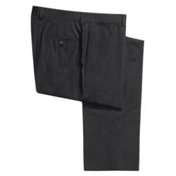 Riviera Harper Tonal Stripe Dress Pants - Merino Wool, Flat Front (For Men)