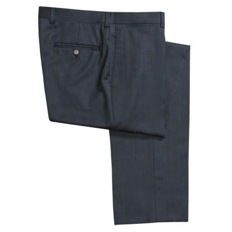 Riviera Armando Fancy Neat Dress Pants - Wool, Flat Front (For Men)