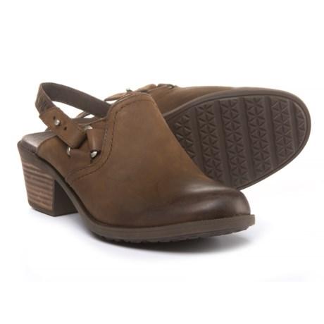 Teva Foxy Sling-Back Clogs - Leather (For Women)