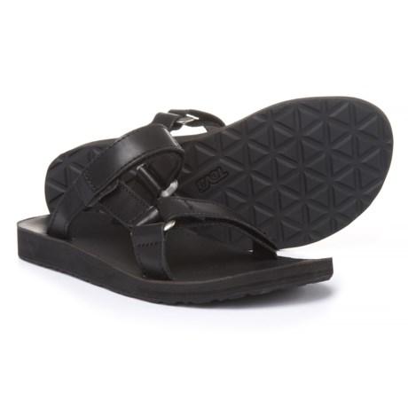 Teva Universal Slide Sandals - Leather (For Women)