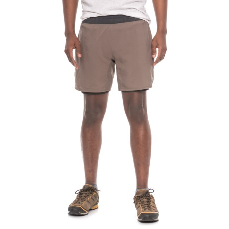 """The North Face Long Haul Shorts - 7"""", Built-In Liners (For Men)"""