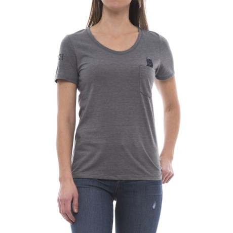 The North Face Americana Pocket T-Shirt - Short Sleeve (For Women)
