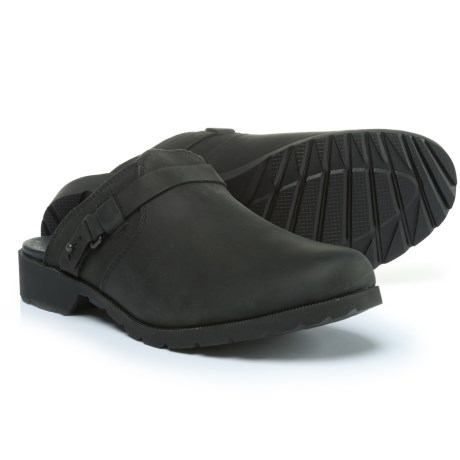 Teva De La Vina Mule Shoes - Leather, Slip-Ons (For Women)