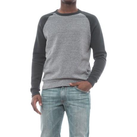 Alternative Apparel Color-Block Eco-Fleece Champ Sweatshirt (For Men)