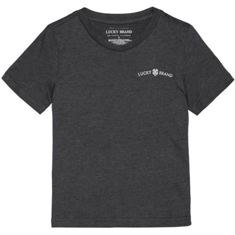 Lucky Brand V-Neck T-Shirt - Short Sleeve (For Little Boys)