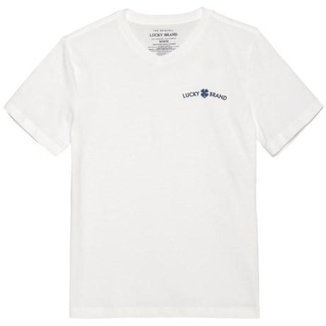 Lucky Brand V-Neck T-Shirt - Short Sleeve (For Big Boys)