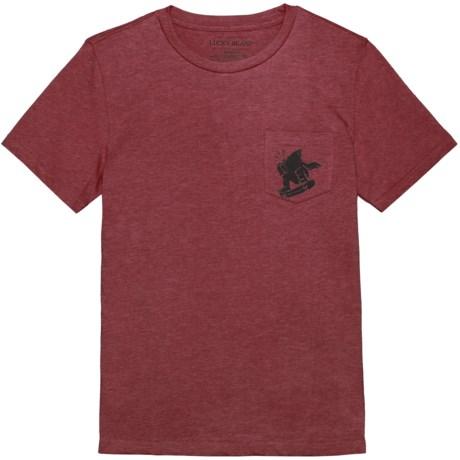 Lucky Brand Pocket T-Shirt - Short Sleeve (For Little Boys)