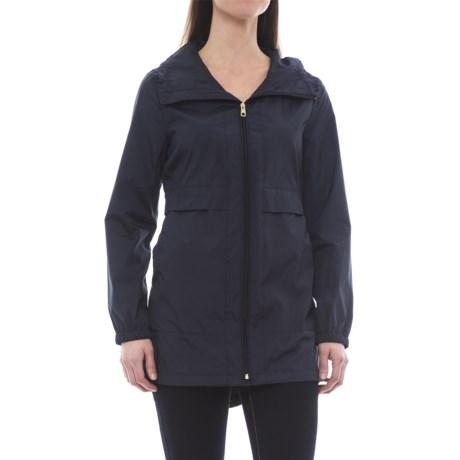 Cole Haan Signature Sporty Packable Rain Jacket (For Women)