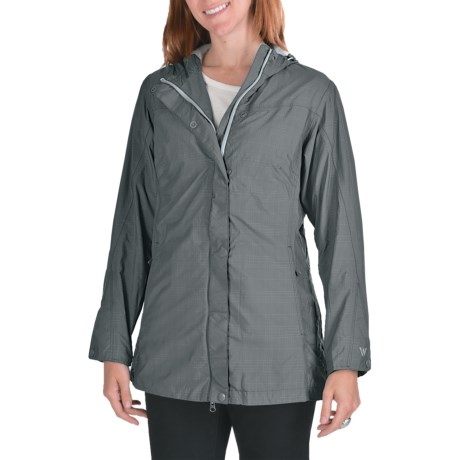 White Sierra Junket Rainwear Jacket - Waterproof, Long (For Women)