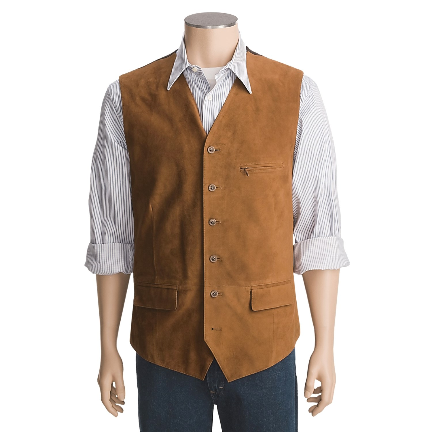 New Listing Mens Vintage Western Frontier Suede Leather Vest XL Cowboy Rodeo Rockabilly Mens Vintage Western Frontier Suede Leather Vest XL Cowboy Rodeo Rockabilly. Condition is Pre-owned.