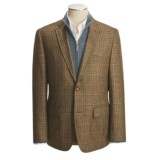 Kroon Browne Houndstooth and Check Sport Coat - Virgin Wool (For Men)