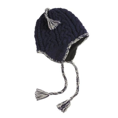 Screamer Nitro Hat - Fleece-Lined Ear Flaps (For Men and Women)