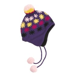 Screamer Hot Star Hat - Fleece Lining, Ear Flaps (For Women)