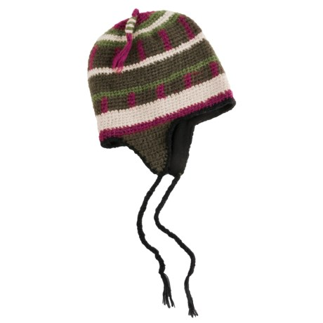 Screamer Calvin Hat - Fleece Lining, Ear Flaps (For Men and Women)