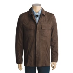 Kroon Suede Shirt Jacket - Long Sleeve (For Men)
