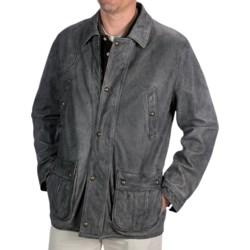 Kroon Antique Washed Leather Jacket (For Men)