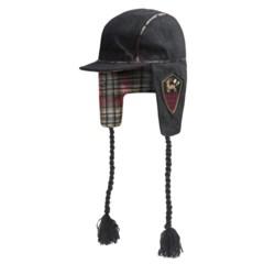 Woolrich Melton Wool Ear Flap Cap - Flannel Lined (For Women)