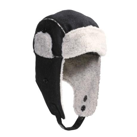 Woolrich Melton Wool Aviator Hat (For Men and Women)