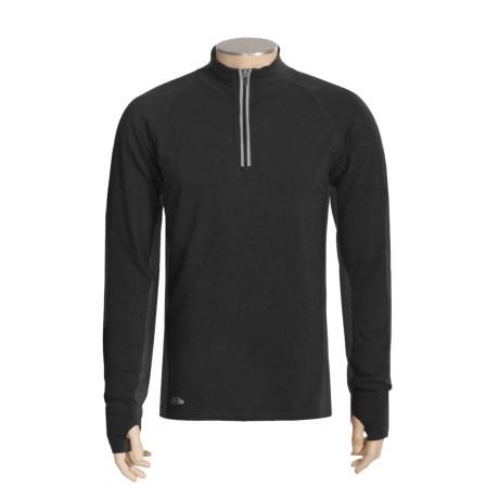 Thriv Regulator Mock Shirt - UPF 50+, Zip Neck, Long Sleeve (For Men)