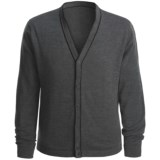 Toscano Merino Wool-Blend Sweater - Striped Piping (For Men)