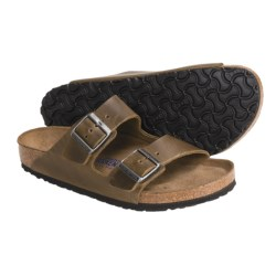 Birkenstock Arizona Soft Footbed Sandals - Leather (For Men and Women)
