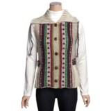 Newari by Icelandic Design Caraway Nepali Vest - Handknit Wool (For Women)