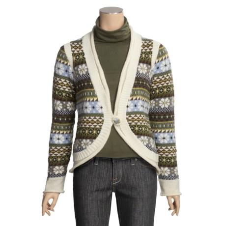 Icelandic Design Madeline Cardigan Sweater - Wool (For Women)