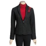Icelandic Design Monroe Jacket - Boiled Wool (For Women)