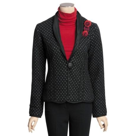 Icelandic Design Monroe Jacket - Boiled Wool (For Women)
